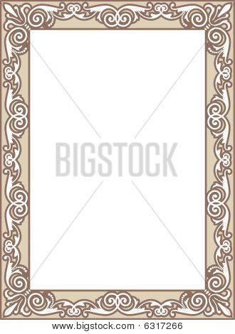 Ornamental Scroll Border