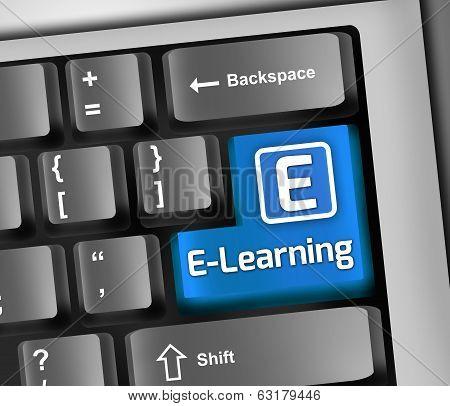 Keyboard Illustration E-learning