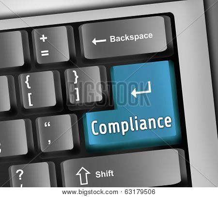 Keyboard Illustration Compliance