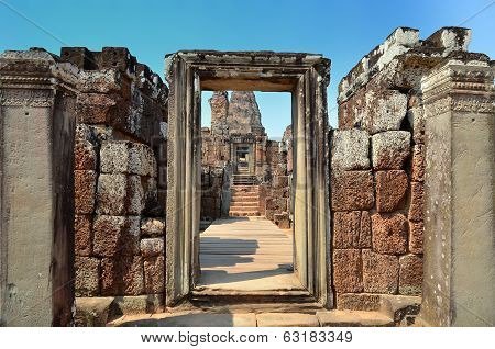 Prae Roup Temple At Angkor