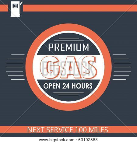Premium Gas Filling Station