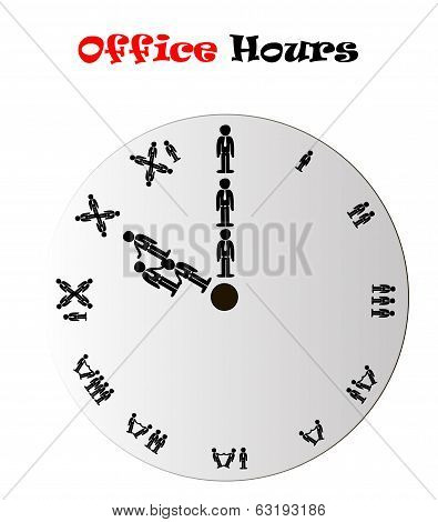 Office Hours Clock