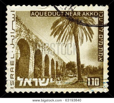 Aqueduct Near Akko, Israel