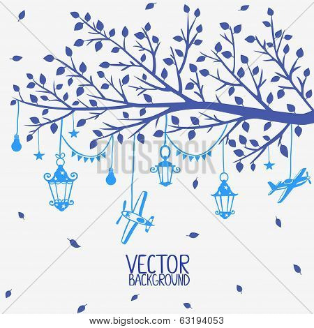 branch lanterns