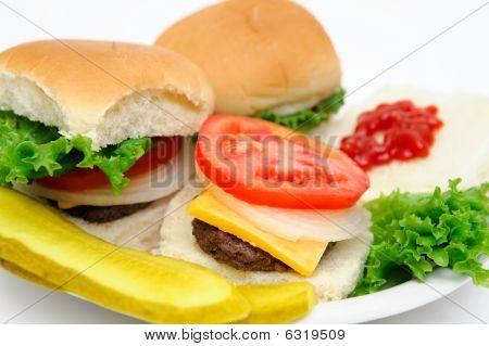 Hamburger And Pickles
