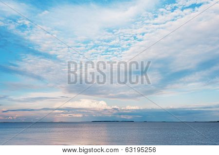 Viev Of Gulf Coast Of Peter The Great.
