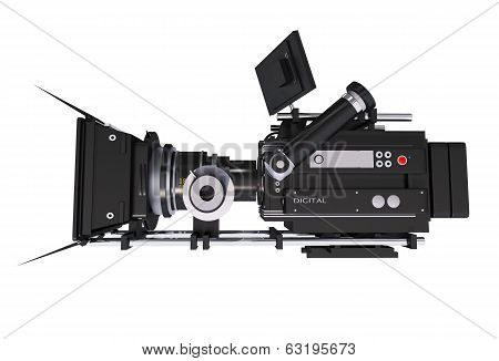 Cinema Camera Side View