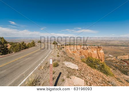 Colorado Cliff Road