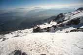 foto of jade blue  - Viewpoint Of Jade Dragon Snow Mountain - JPG