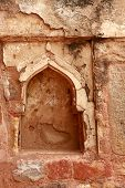 pic of qutub minar  - Decorative pattern  - JPG