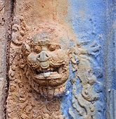 Door Decoration In Bakong Temple