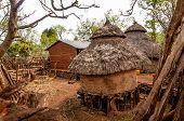 foto of ethiopia  - Houses of tribe Konso in Ethiopia  - JPG