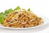 picture of rice noodles  - Thailand  national dishes - JPG