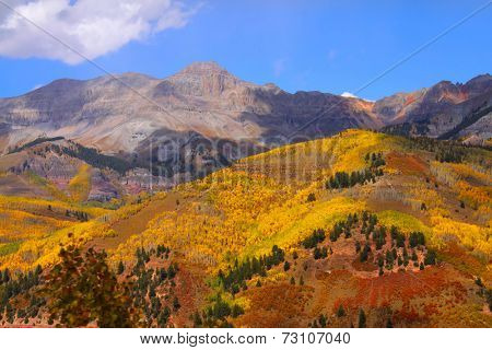 Beautiful San Juan mountains