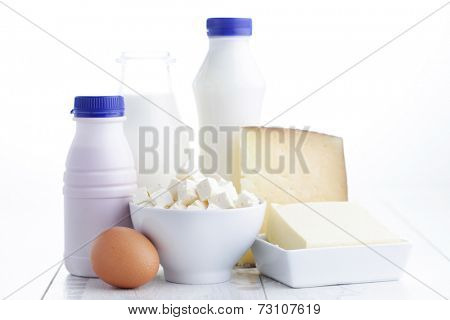group of dairy product - food and drink