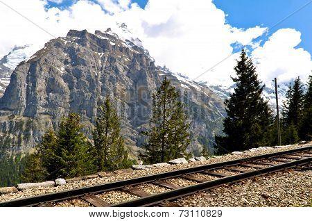 Mountain Railway, Swiss Alps