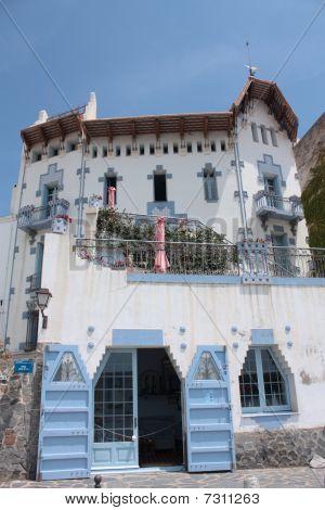 Blue House, Cadaques, Costa Brava, Spain