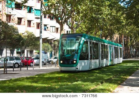 Tram, green transport