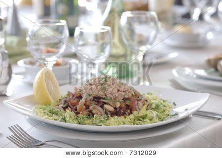 Plate Of Tuna Salad