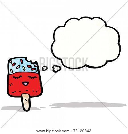 ice lolly cartoon character