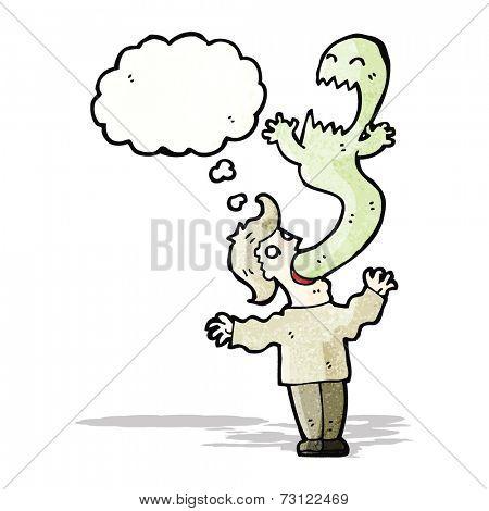cartoon ghost