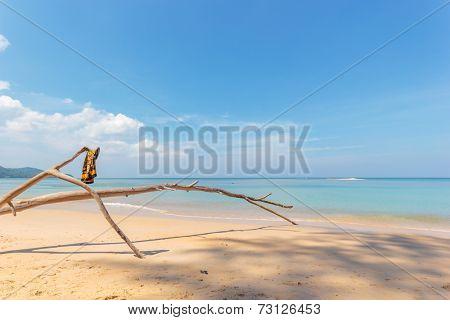Paradisiac beach of Patong, Koh Phuket in Thailand