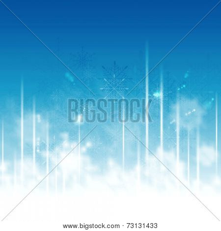 Greeting card for Christmas holiday. Abstract vector background