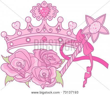 Illustration of Shiny crown