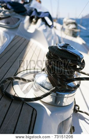 Sailboat Winch
