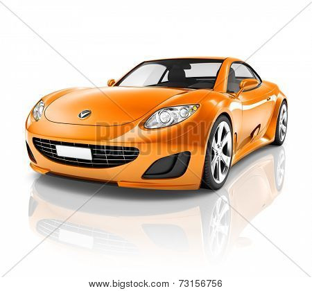 Luxury 3D Sports Car