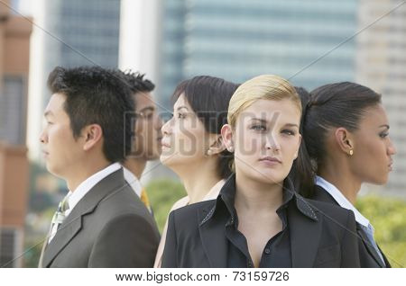Group of multi-ethnic businesspeople