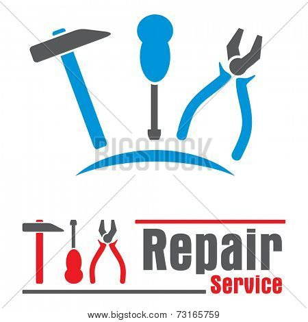Concepts symbols for repair service