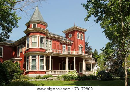 BANGOR, MAINE, AUGUST 27 2014: House of Stephan King in Bangor Maine, august 27, 2014.