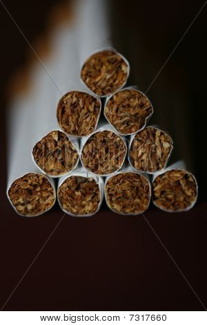 Stacked Cigarettes