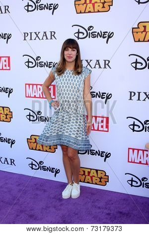 LOS ANGELES - OCT 1:  Lindsay Sloane at the VIP Disney Halloween Event at Disney Consumer Product Pop Up Store on October 1, 2014 in Glendale, CA