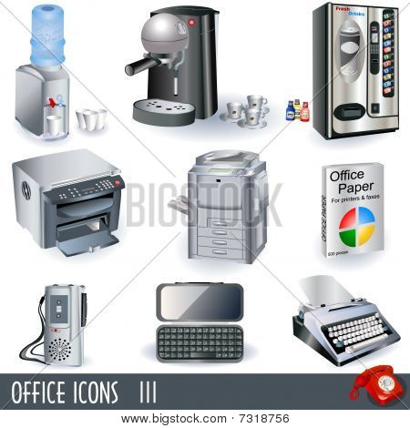Office icons set 3