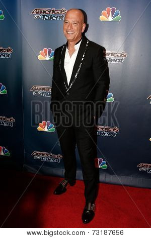 NEW YORK-SEP 17: Comedian Howie Mandel attends the post-show red carpet of America's Got Talent: The Finale Season 9 at Radio City Music Hall on September 17, 2014 in New York City.