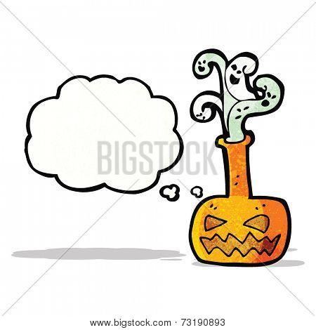 spooky halloween potion cartoon