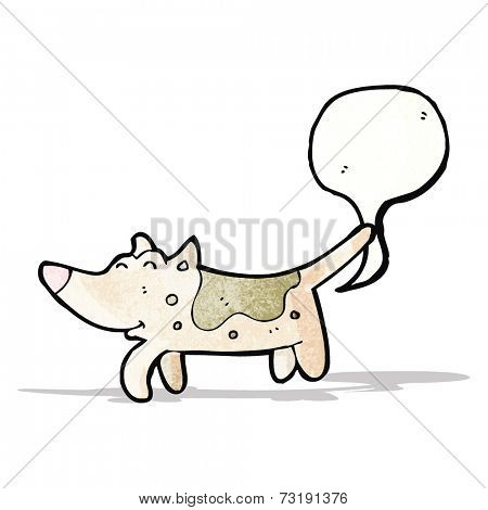 farting dog cartoon