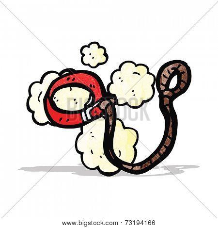 cartoon dog leash