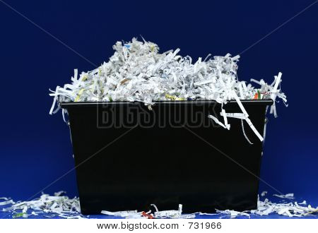 Shredded Paper In Box