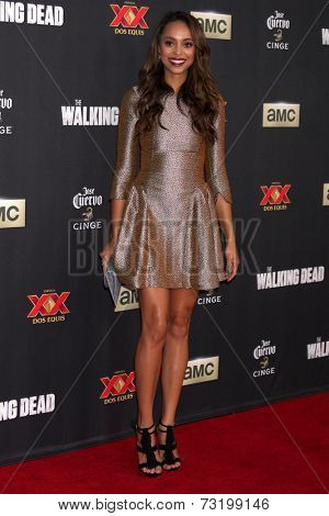 LOS ANGELES - OCT 2:  Amber Stevens at the