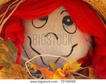 Saucy Suzy Scarecrow