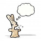 foto of belching  - burping rabbit cartoon - JPG