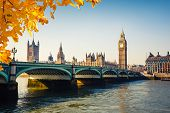 foto of british culture  - Big Ben and Houses of parliament in London - JPG