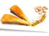 image of baklava  - traditional dessert turkish baklava - JPG