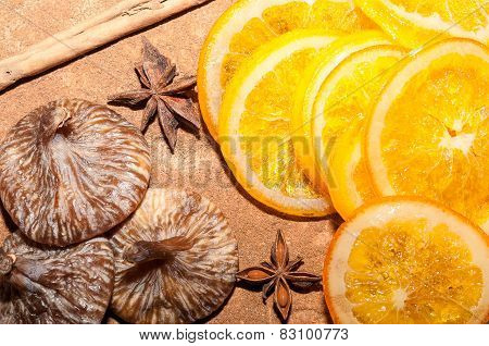 Oranges whit figs