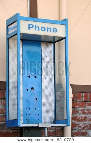 Stolen Public Telephone