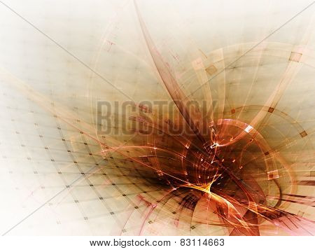 Abstract red background design