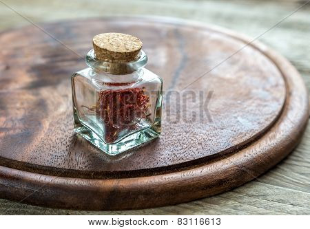 Saffron In The Vial